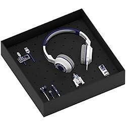 Tribe Star Wars Gift Box Include Chiavetta USB da 16 Gb, Caricabatteria da Auto, Cavo Micro USB Line, Auricolari Swing e Cuffie On-Ear Pop - R2D2