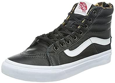vans sk8 hi slim zip damen sneaker schwarz. Black Bedroom Furniture Sets. Home Design Ideas