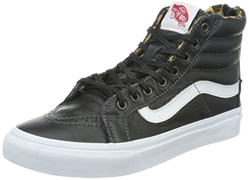 Vans U Sk8-Hi Slim, Baskets mode mixte adulte Noir