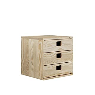ASTIGARRAGA 499B86 Modular Chest of Drawers with 3 Drawers 36X33X36