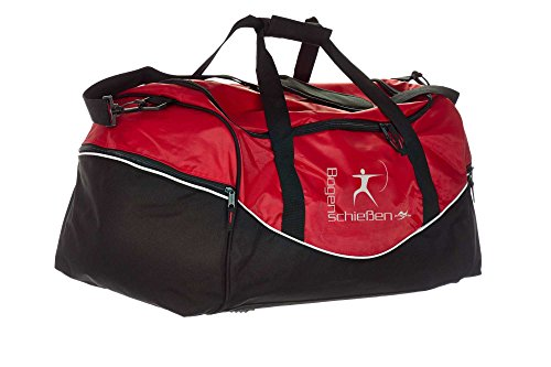 Tasche Team QS70 rot/schwarz Bogenschießen