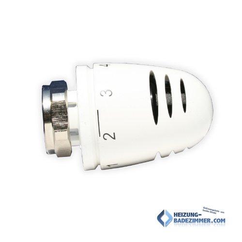 Herz Design Thermostatkopf Mini 1920030 M28 x 1,5 weiß