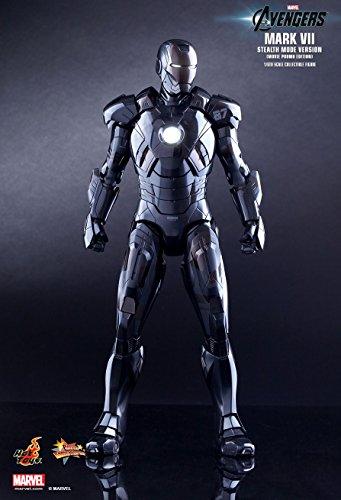 Hot Toys Movie Master Piece - Iron Man 3: Mark 7 VII Stealth Mode Version Movie Promo Edition