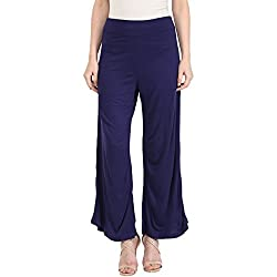 Honey by Pantaloons Womens Regular Fit Palazzo (205000005553749_Navy_28)