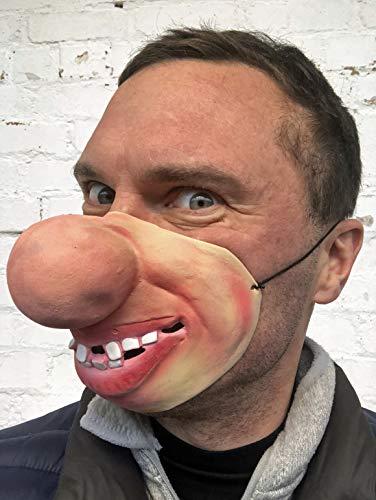 Fett Nase Latex Maske Film FX Qualitätskostüm Masquerade