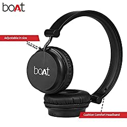 Boat Rockerz 400 On-Ear Bluetooth Headphones 100% genuine 1 year warranty