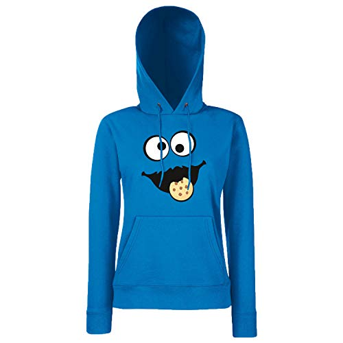 Shirt-Panda Keks Monster Damen Hoodie Gruppen Kostüm Karneval -