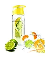 Demarkt 800ML Bouteille Eco-friendly Fruits Infusion BPA-Free Bouteille Transparent Sport Bouteille