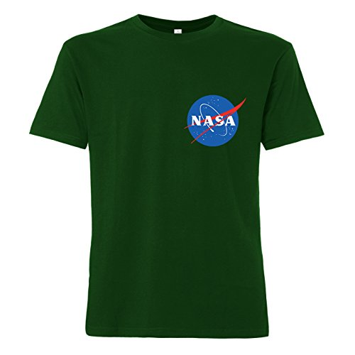 ShirtWorld NASA Logo - T-Shirt Grün