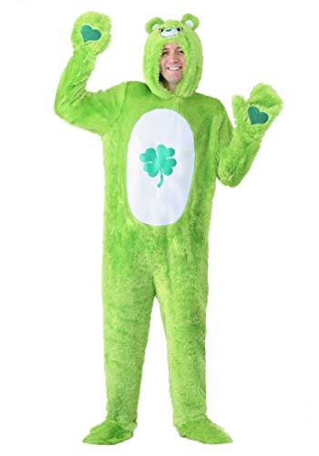 Care Bears Classic Good Luck Bear Plus Size Fancy Dress Costume 2X