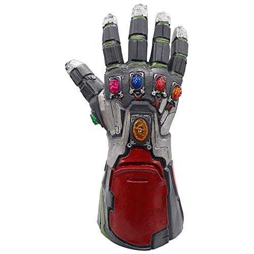 EP-Toy Marvel Legend Series Spielzeugmodell, 1: 1 Iron Man Infinity Gauntlet Fan Souvenir, Halloween Cosplay (14,2