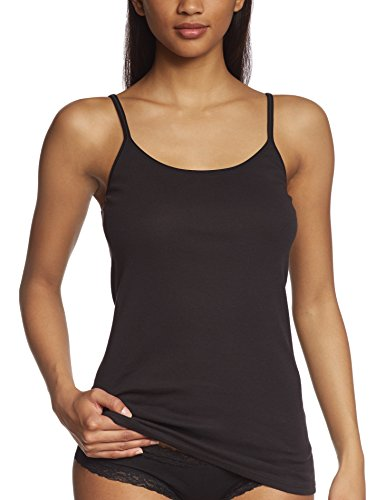 Triumph - Katia Basics Shirt01 (1PL35), Canotta da donna, nero(schwarz (black 04)), Taglia produttore:  40
