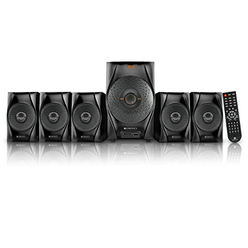 Zebronics Cuba BT RUCF 5.1 Channel Multimedia Speakerwith Bluetooth & Remote