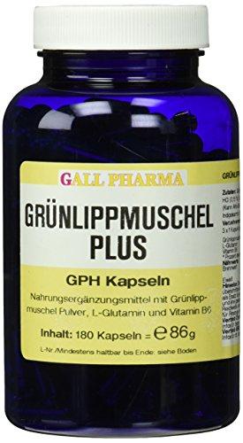 Grünlippmuschel Plus GPH Kapseln , 1er Pack (1 x 180 Stück)