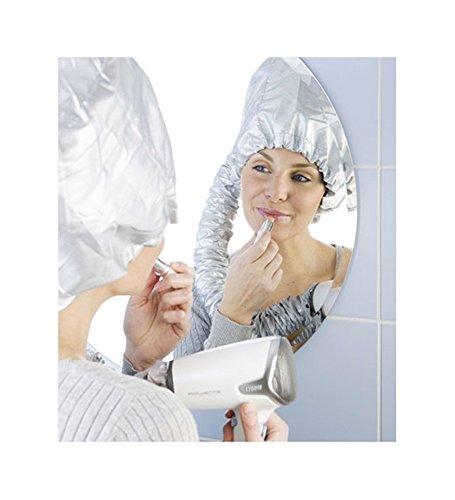 Wenko Trockenhaube Haartrockenhaube, Trockenhaube für Haartrockner, silber