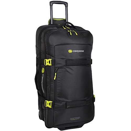 6709cf91ec4d Caribee Global Explorer 125 Rolling Luggage 125L Black
