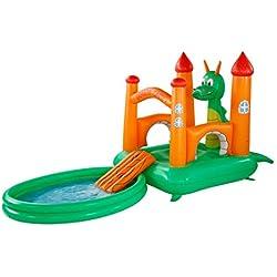 Fiedola 14067 - Castillo hinchable para piscina (237 x 155 x 180 cm + 188 x 144 cm)
