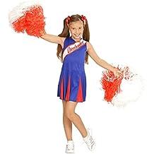 Widmann - Disfraz de animadora para niñas de 5 - 7 años, 128 cm (W0307-S)