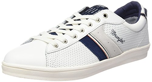 wrangler-vidy-derby-leather-sneakers-basses-homme-blanc-weiss-51-white-42