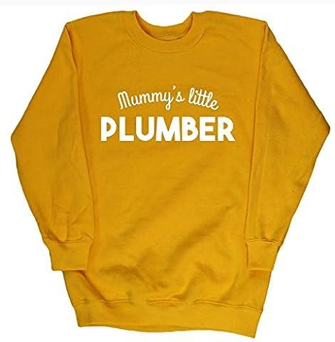 HippoWarehouse - Sweat-shirt - Fille - Jaune - 4 ans