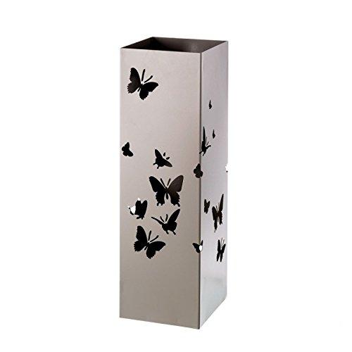 Dcasa - Paragüero gris diseño romántico metal entrada