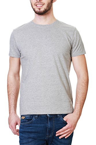 People Men's T-Shirt (8903880995379_PMKGT01FR116383_Medium_Grey)  available at amazon for Rs.125