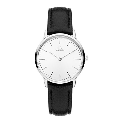 Danish Design Reloj Analógico para Mujer de Cuarzo con Correa en Cuero IV12Q1251
