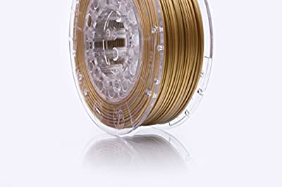 print-Me 5906190615978 Filament für 3D Drucker SmartFit PLA 1.75 mm, Antique Gold