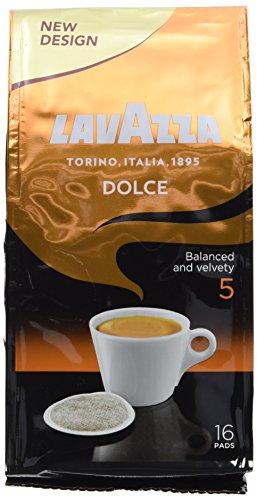 Lavazza Caffè Crema Dolce 16 Pads, 12er Pack (12 x 111 g)