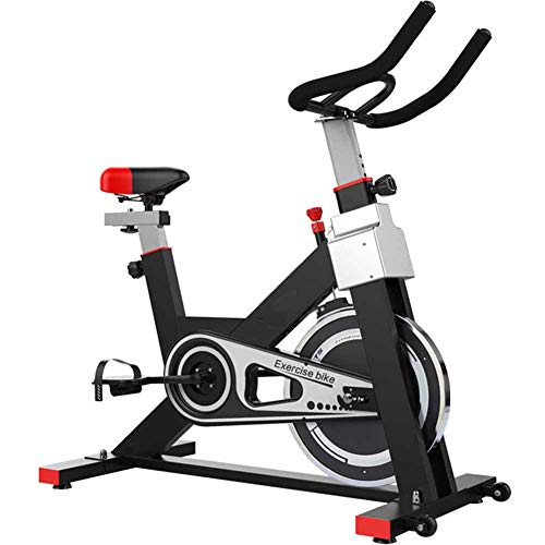 Belt Drive (Qys Indoor Cycling Bike Belt Drive Stationary Bicycle Training-Fahrräder für das Home Cardio Workout Bike Training,Black)