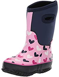 Hatley All Weather Boots, Botas de Nieve Chica, Azul (Multi Hearts 400)