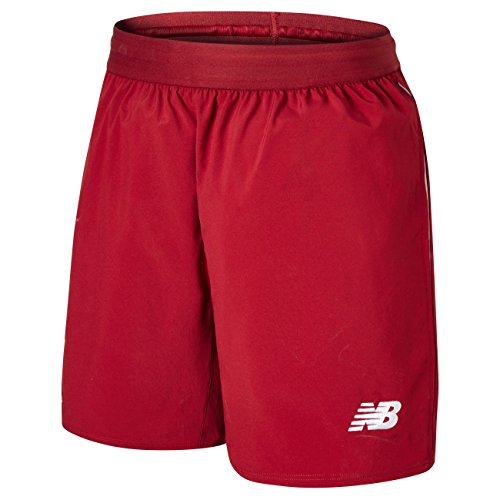 New Balance 2018-2019 Liverpool Home Shorts (Red)