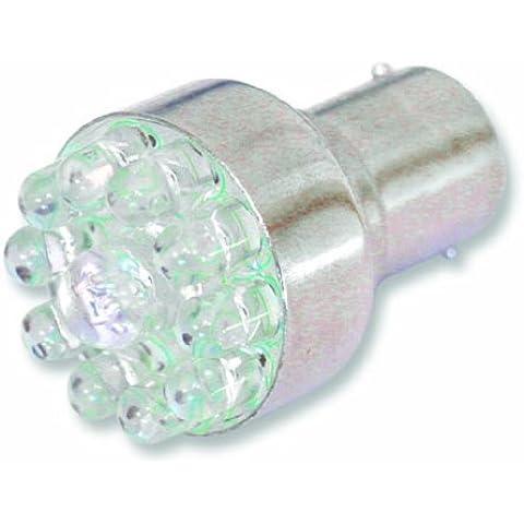 Savage B716 - 2 luci decorative a 239 LED + pannello di montaggio, colore: Bianco
