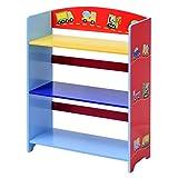 Kinder Bücherregal Kinderregal Aufbewahrungsregal Standschrank Bücherschrank Spielzeugregal mit 3 Fächern