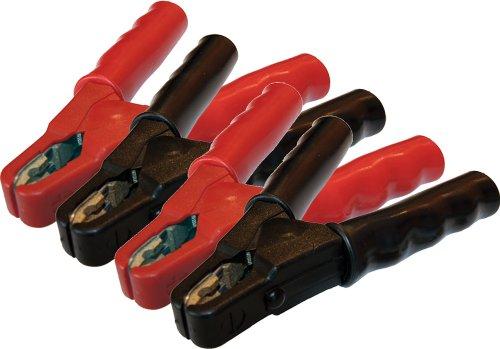 Preisvergleich Produktbild Ladezangen-Satz SZ60 (rot) und SZ61 (schwarz) / bis 600A / vollisoliert / Messing-Gusspoleinlagen