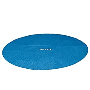 Intex 29025 Easy-Frame Telo di Copertura Estivo per Piscine Fuoriterra, Tonde, Diametro 549 cm