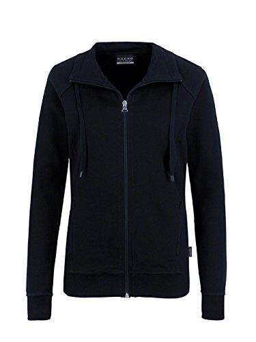 HAKRO - Sweat-shirt - Manches Longues - Femme Blanc - Noir