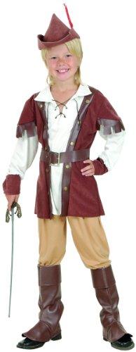 Generique Robin Hood-Kostüm für Jungen 104/116 (4-6 Jahre)