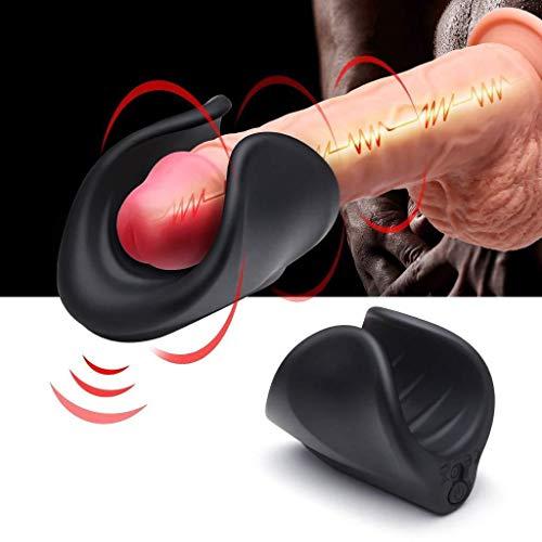 TXD Automatic Cup for Men Multi V bration Modes Massaggiatore Elettrico per la Gola Profonda per Tshirt da Uomo ( Color : 9019109000 )
