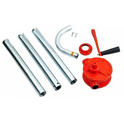 Pompe à manivelle vide-fût - baril diesel huile chauffage huile moteur - 30l/min - pompe a fût