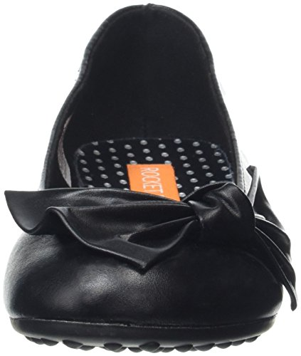 Rocket Dog Roscoe, Ballerine Donna Nero (Black (Tiff Black))