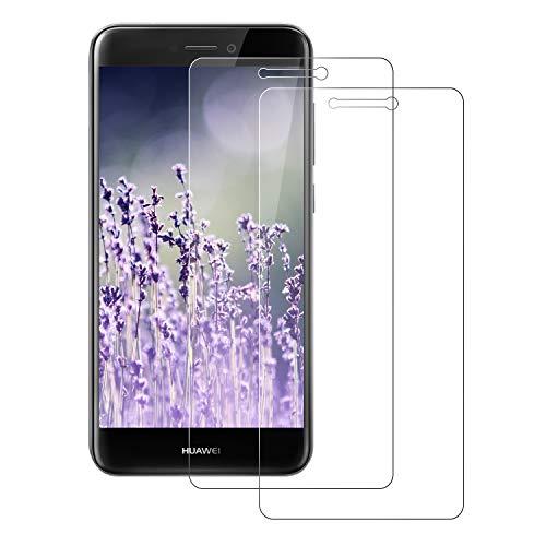 FayTun Huawei P8 Lite 2017 Pellicola Protettiva, 2Pack Pellicola Vetro Temperato Huawei P8 Lite 2017 Schermo Screen Protector con durezza 9H-Anti-Impronte e Anti-Bolle per Huawei P8 Lite 2017