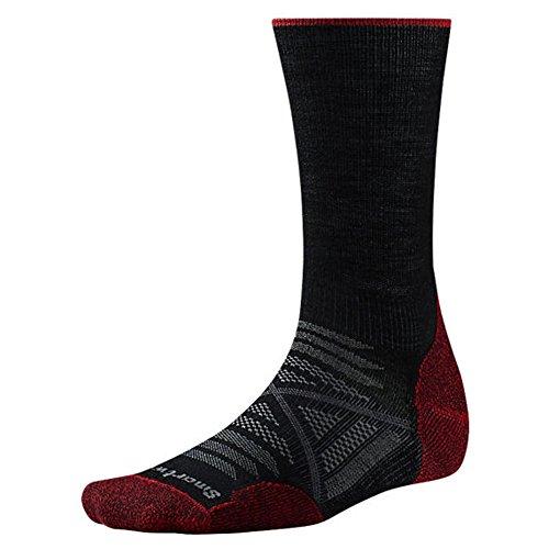 Smartwool Herren Phd Outdoor Light Crew Socken Black