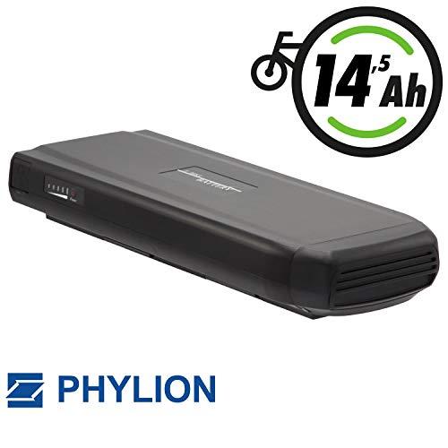 Phylion Akku Typ Joycube Wall-ES für E-Bike Pedelec 37V 14,5Ah für u.a. Bianchi, Puch, Bagier, Fischer