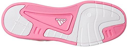 adidas Lk Trainer 6 Cf K, Baskets mode mixte enfant Blanc/rose