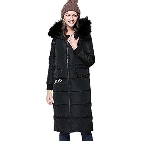 XYXY Lunga donna con cintura cappotto con