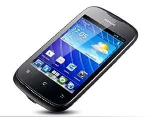 Huawei Ascend Y201 Pro Smartphone (8,9 cm (3,5 Zoll) Touchscreen, 3,2 Megapixel Kamera, 4 GB Interner Speicher, Android 4.0) schwarz