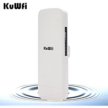 Kuwfi 300mbps wireless outdoor cpe avec wifi reapter for Pont wifi exterieur