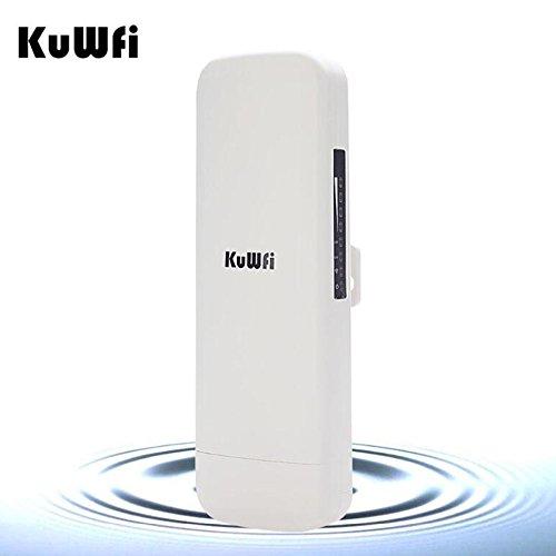 KuWFi 300mbps wireless outdoor cpe avec wifi reapter longue distance du point d'accès sans fil wifi pont extérieur