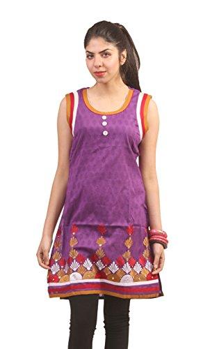 Paislei Casual Embroidered Women's Kurta